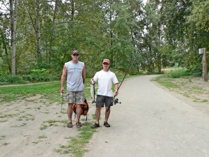 Fishing & trail