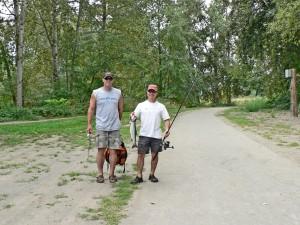 Fishing & trail