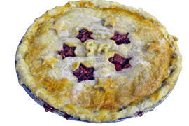Pie clipped small
