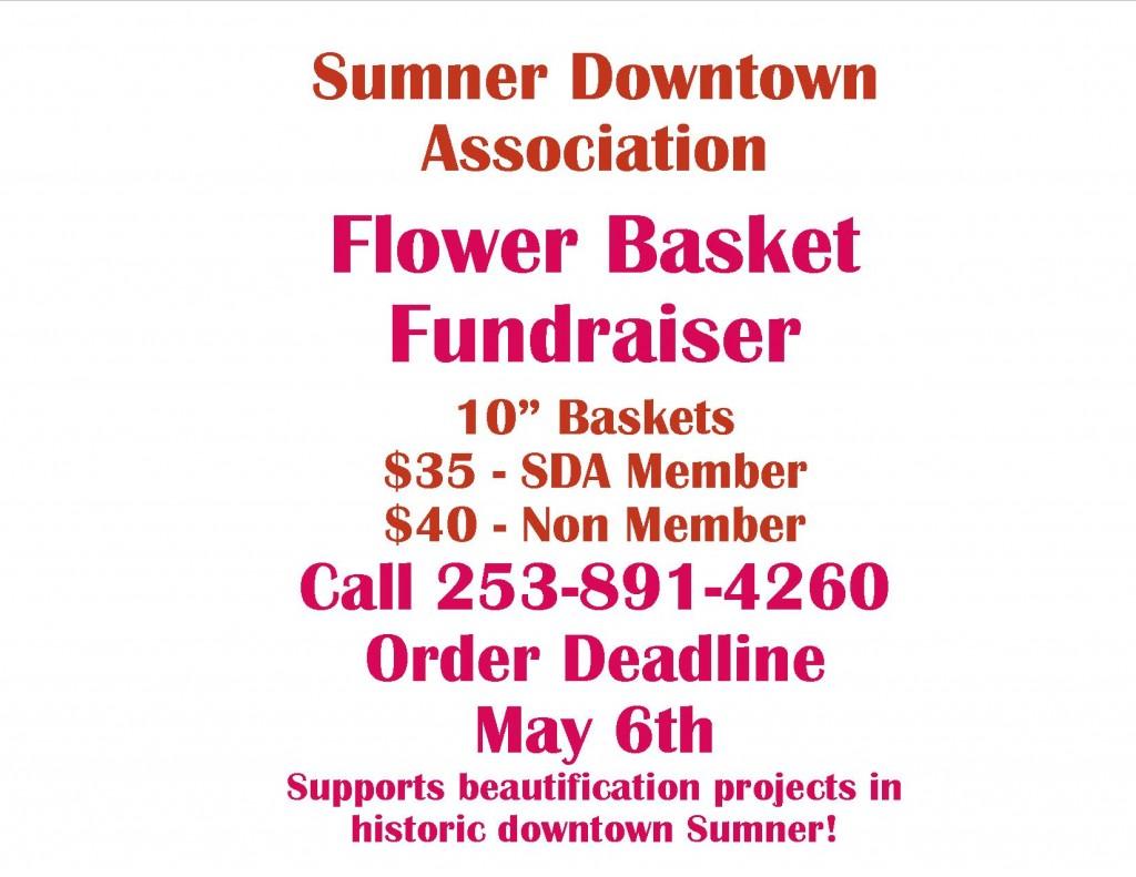 Flower Basket Flyer 2016