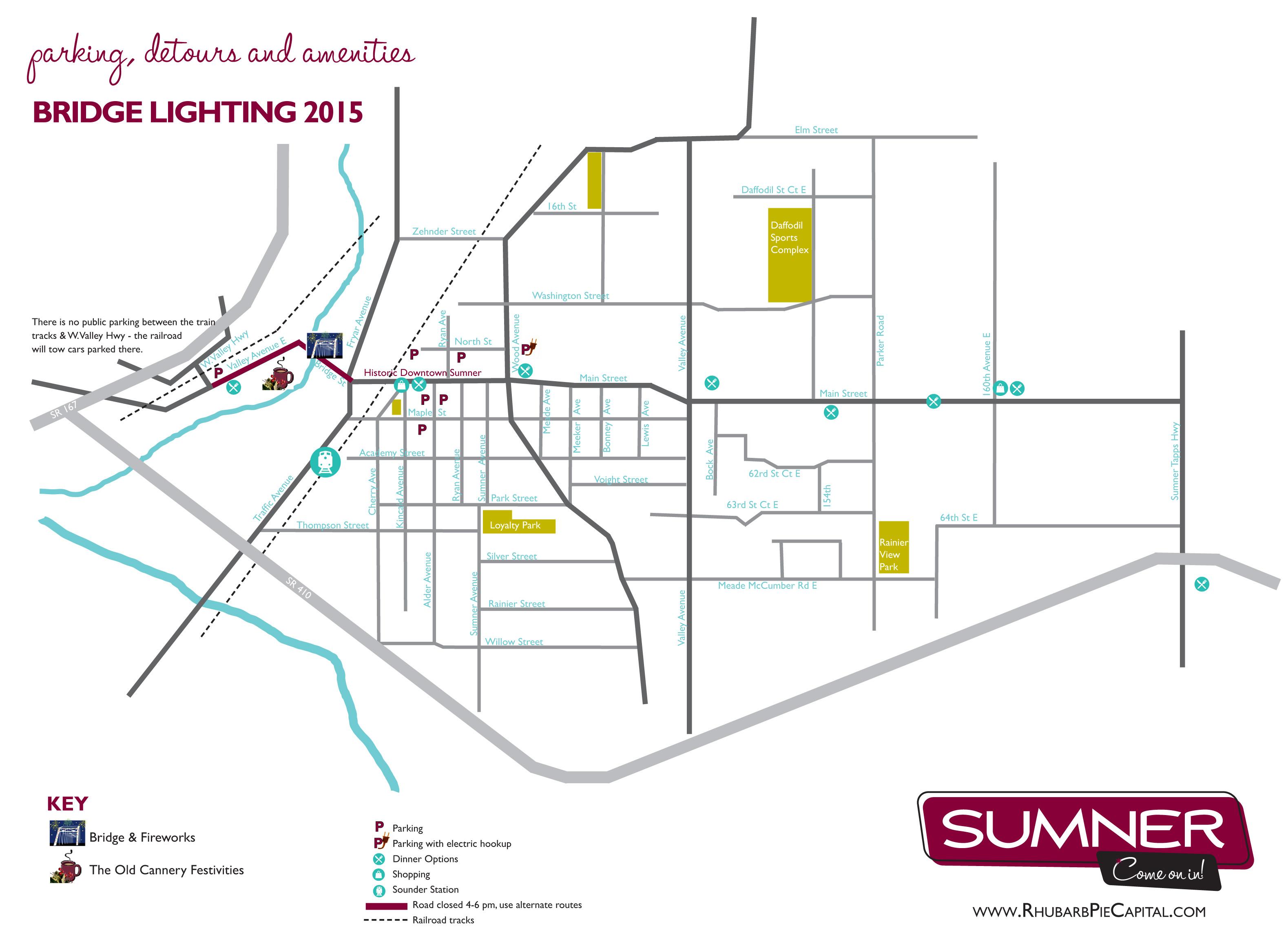 Bridge Lighting Parking Map
