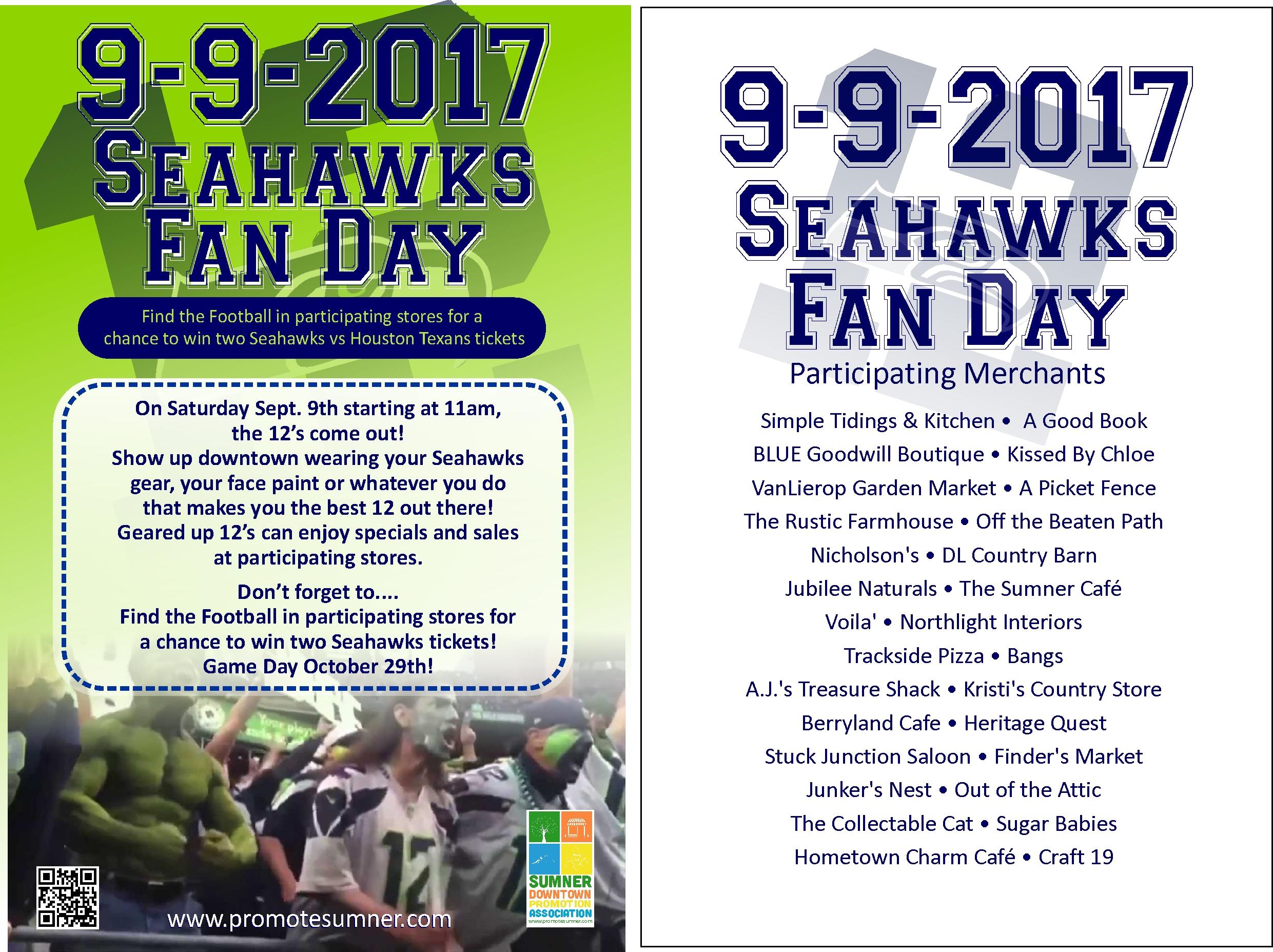 Seahawks Fan Event – Sumner, Washington