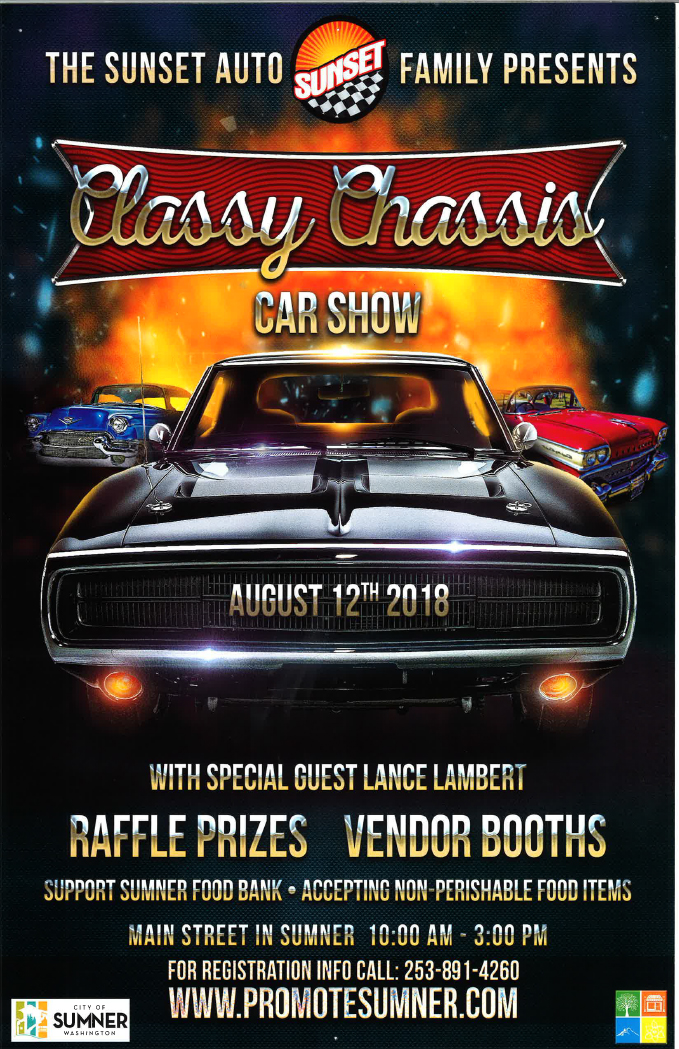 Classy Chassis Car Show Sumner Washington - Car show games